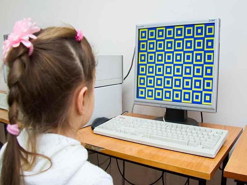 Компьютерные программы для лечения амблиопии