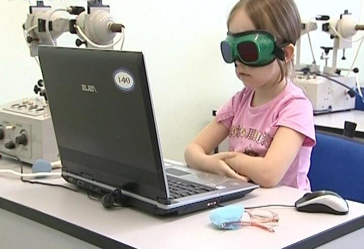 Компьютерное лечение амблиопии у детей