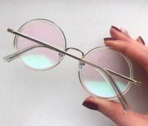 Очки защитные с прозрачной поликарбонатной линзой