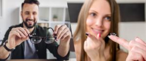 Очки или линзы — что лучше