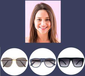 Как выбрать солнцезащитные очки в зависимости от формы лица