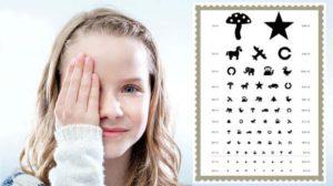 Визометрия для детей
