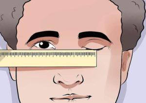 Измерение межзрачкового расстояния