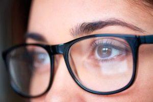 Миопия со зрением -8